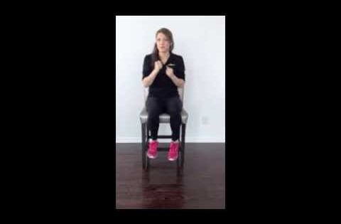 Aim2walk Wheelchair Boxing Workout This Workout Will