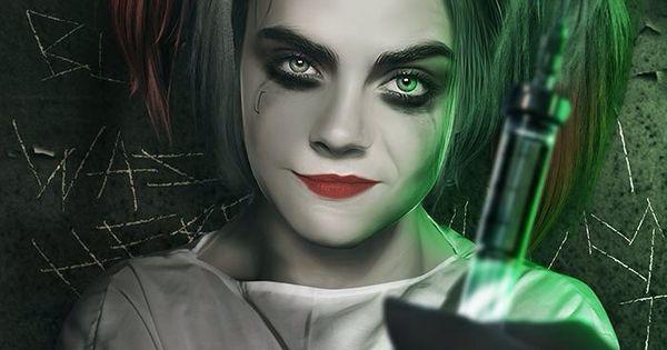 Female Joker Halloween Costume