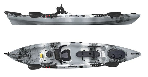 Vibe kayaks sea ghost 130 angler package cannot wait for Fishing kayak brands