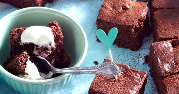 kirsch brownies vom blech rezept brownies vegans and kuchen. Black Bedroom Furniture Sets. Home Design Ideas