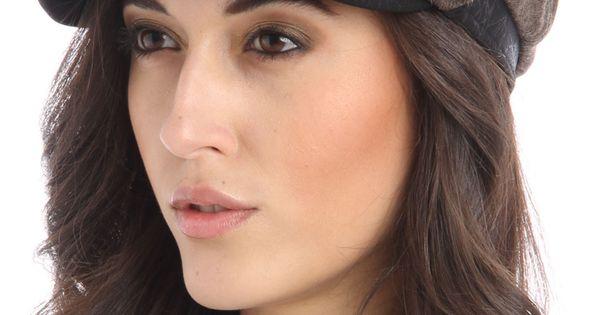 Violet Del Mar Jessica Hat In Dark Brown $9.99- want!!