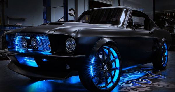 West Coast Customs Cars For Sale >> LED underbody lighting that gives custom appearance to vehicle. | cars | Pinterest | Cars, Ford ...