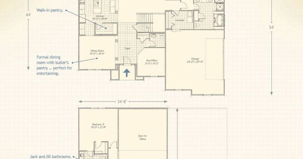 Luxury custom homes the winchester wayne homes dream Wayne homes floor plans