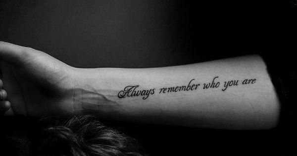 quote tattoos | Tumblr