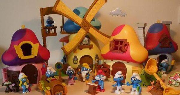 smurf's village...the windmill!!!!  포트폴  Pinterest