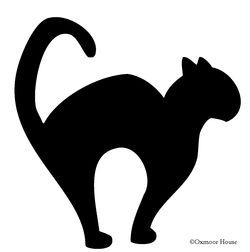 Halloween cats | free printable templates & coloring pages.