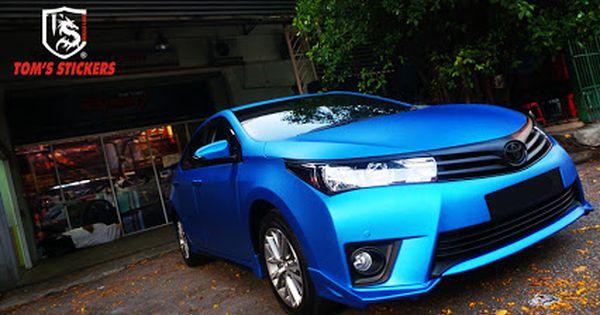 Honda City Matte Metallic Blue Full Wrap Tomsstickers Hondacity Honda Metalllicblue Carwrap Fullwrap Carsticker Kualalump Honda City Car Wrap Bmw Car