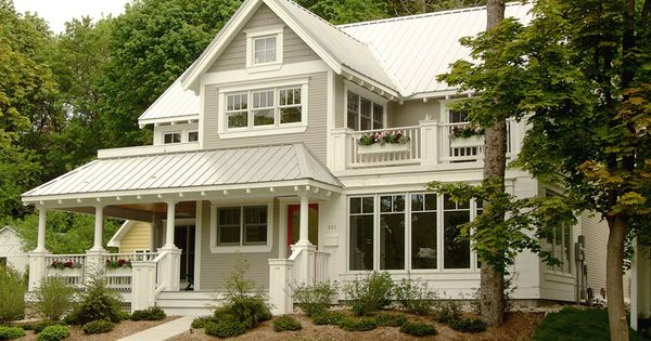 Exterior Paint Colors Metal Roof Design Ideas, Pictures, Remodel and Decor