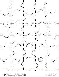 Puzzleteilvorlagen Im Kidsweb De Puzzleteil Lapbook Vorlagen Papiergeschenke