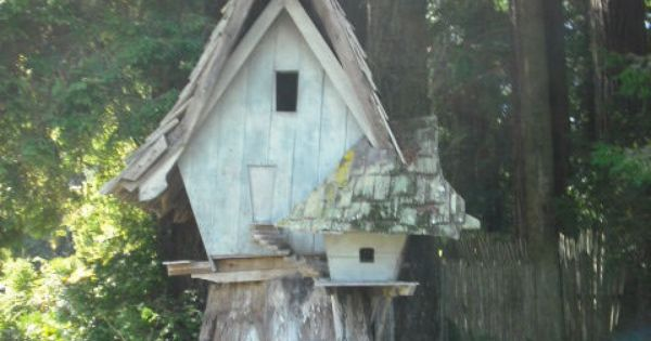 Fairy house at sequoia park zoo in eureka ca the great Cabins eureka ca