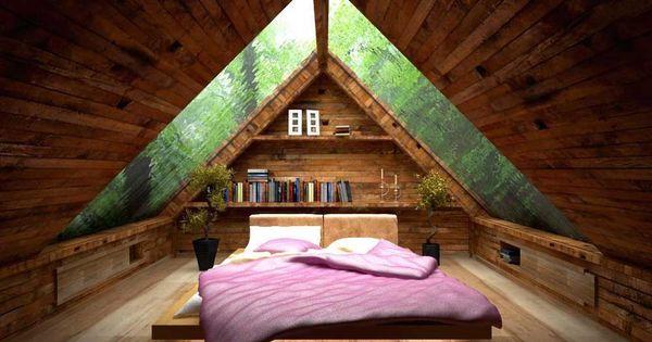 Best Design Of Room Under Roof With Ceiling Design Idea
