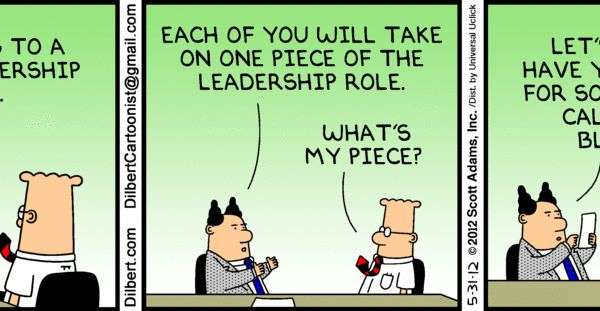 The Dilbert Strip for May 31, 2012 Let's Be Clear — This ...