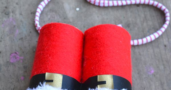 How to make your own Santa Claus Binoculars
