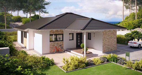 Fassadengestaltung beispiele bungalow  livvi-haus-bauweisen-bungalow-9 | Häuser | Pinterest | Häuschen