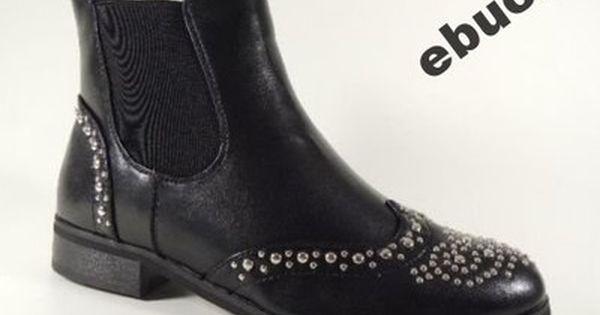 Czarne Buty Botki Sztyblety Cwieki R 37 6455445138 Oficjalne Archiwum Allegro Chelsea Boots Shoes Ankle Boot