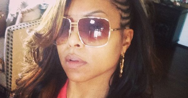 Taraji P. Henson side conrows hairstyle | Black hairstyles ...