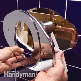 Shower Faucet Installation Shower Faucet Shower Installation Diy Plumbing