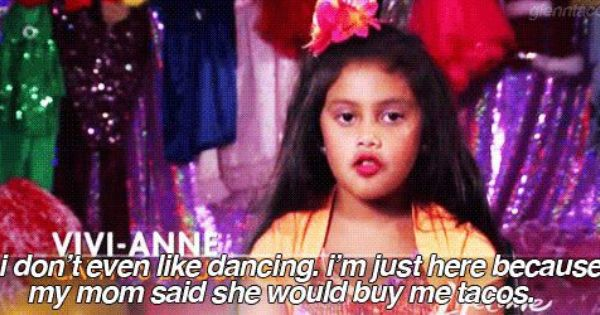 Oh, dance moms. I can't stop laughing! This little girl is a