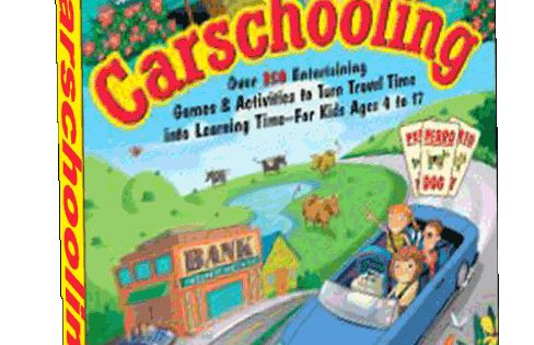Carschooling - brilliant! They are captive.
