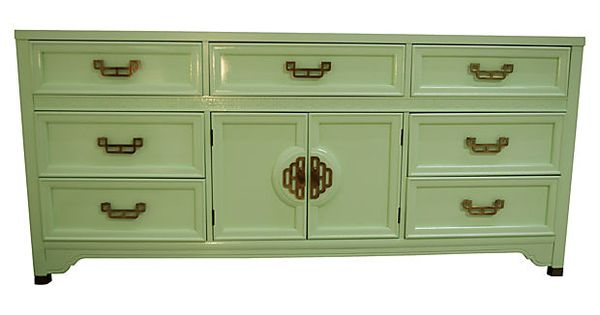 """Stunning """"Mandarin"""" dresser by Henry Link newly lacquered ..."""
