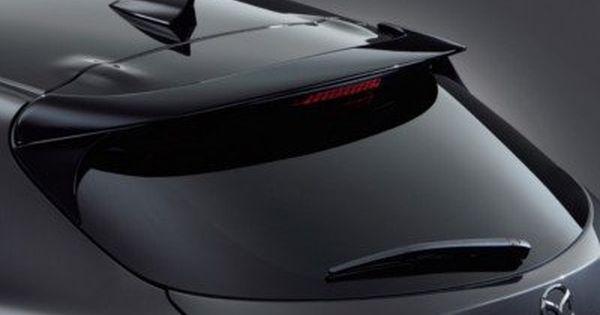 Aero Kit Rear Roof Spoiler Mazda3 Hatchback 2014 2018 Hatchback Mazda 3 Mazda 3 Hatchback