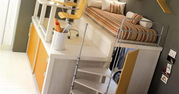 Cool loft beds for teens last updated by bex at october for Cool beds for tweens