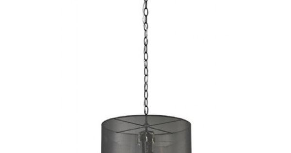 Luminaire suspendu noir abat jour organza noir id al for Luminaire suspendu noir