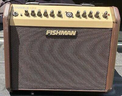 Fishman Loudbox Mini 60 Watt Acoustic Guitar Combo Amp Guitar Guitar Amp Headphone Amp