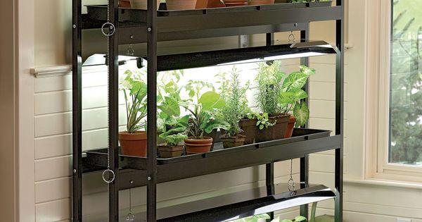 3 tier sunlite garden with t 5 bulbs gardener 39 s supply for Garden supply burlington vermont