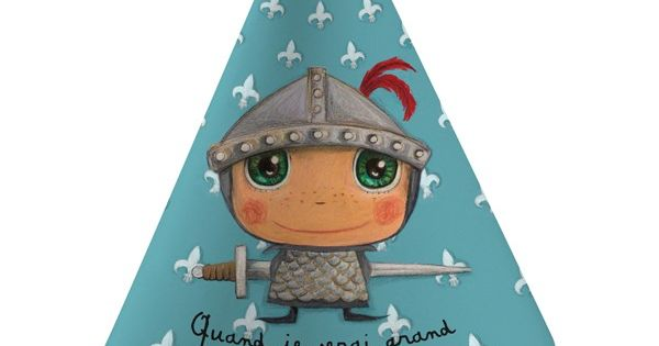Chapeaux de f te quand je serai grand je serai chevalier for Quand ramasser les coings