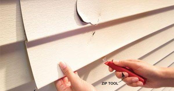 How To Replace Vinyl Siding Vinyl Siding Repair Siding Repair Vinyl Siding