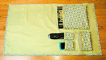 Bed Caddy Sew4home Bed Caddy Bedside Organizer Easy Sewing Projects
