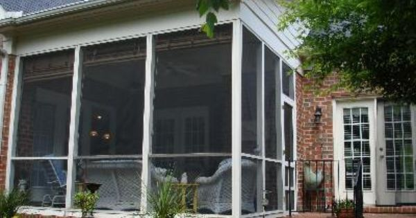 Screened Porch With Shed Roof Porch Pinterest Sheds