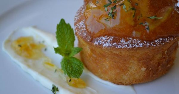 Lemon Cream Cheese Cake, Orange Marmalade — at Firenze Osteria ...