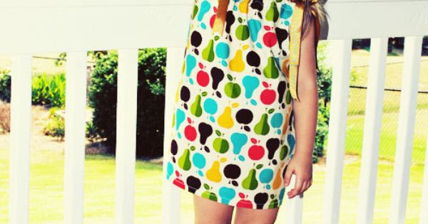 Apples pears pillowcase style dress reuse reduce recycle pinterest pears apples and - How to reuse magazines seven inspired ideas ...