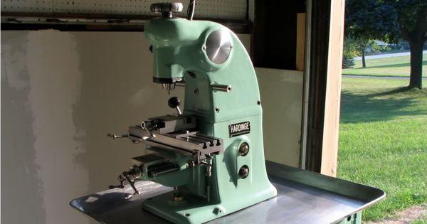 Hardinge Bb2v Vertical Micro Milling Machine