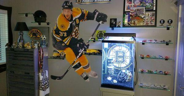 Boston Bruins Themed Bedroom