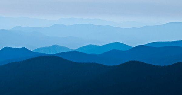 Blue Ridge Mountains Blue Ridge Mountains Virginia Blue Ridge Mountain Mural