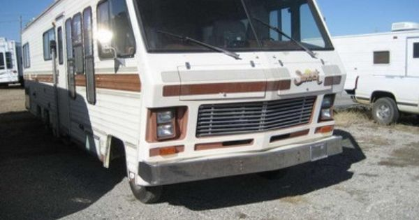 Suncrest Motorhome Vintage Camper Rv Classifieds