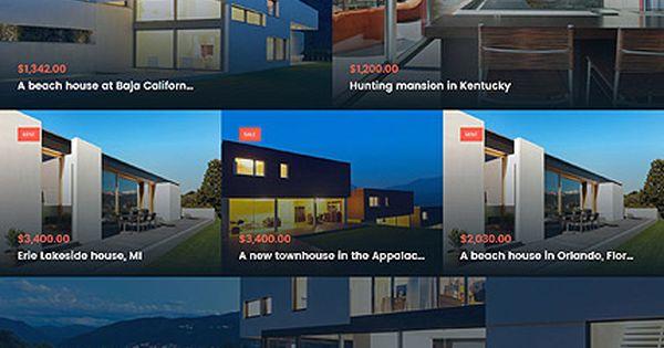 Real Estate Agency #Wordpress #template. #themes #business #responsive #Wordpressthemes ...