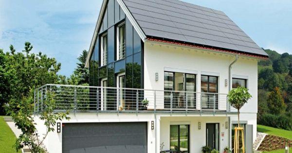 Walz einfamilienhaus von fertighaus weiss gmbh hausxxl for Fertighaus klassisch