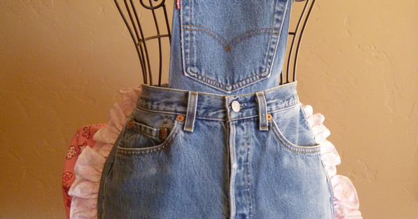 redneck denim apron - Google Search