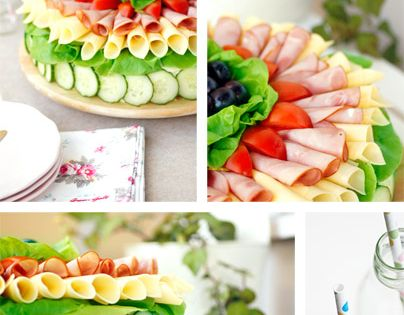 Sandwich Cake. On the website you will find a step by step