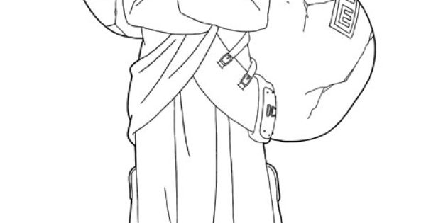 shikamaru coloring pages