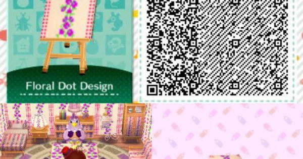 ACNL/ACHHD QR CODE-Wall, Floor, Fabric
