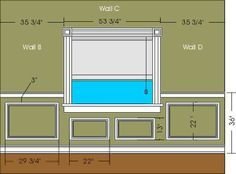 Proper Height For Beadboard Wainscoting In Dining Room Google