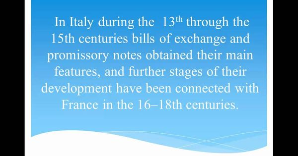 The History of Promissory Notes Revealed Promissory Notes - promissory notes