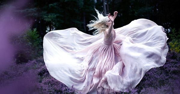 while nightingales wept. credit: kirsty mitchell