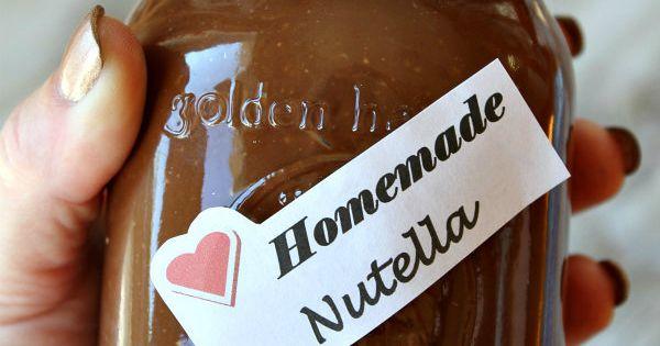 Homemade (Almond) Nutella - no palm oil, and you can adjust the