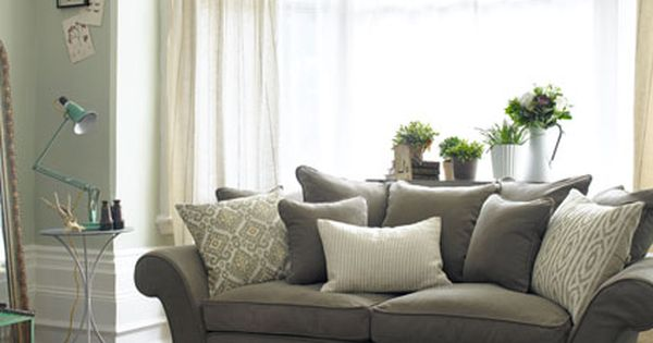 Girly Greys Grey Living Rooms Living Room Ideas And